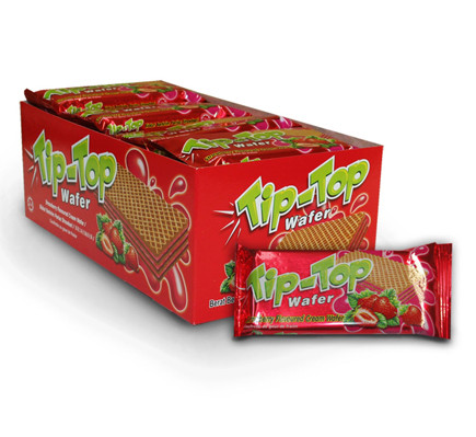 TIP TOP WAFER - STRAWBERRY